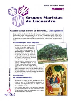 Un año más, los Grupos Maristas de Encuentro